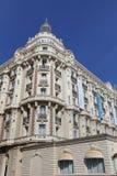 Den interkontinentala Carlton Cannes på Croisette Royaltyfri Fotografi