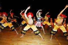 Den internationella festivalen för 23rd folklore i Israel Arkivfoton