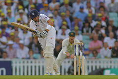 Den internationella syrsan England V Australien Investec Ashes 5th Tes Arkivfoton