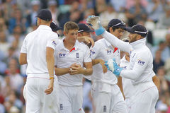Den internationella syrsan England V Australien Investec Ashes 5th Tes Arkivbilder