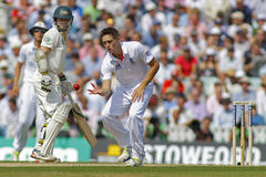 Den internationella syrsan England V Australien Investec Ashes 5th Tes Arkivbild
