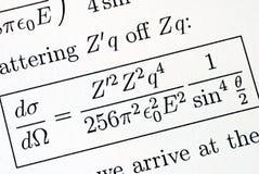 den invecklade matematikfrågan löser royaltyfria bilder