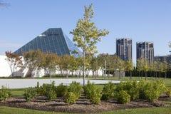 Den Ismaili mitten i Toronto, Kanada Arkivfoto