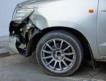 den isolerade bilillustrationen för olyckan 3d framförde white Royaltyfri Foto