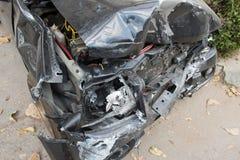 den isolerade bilillustrationen för olyckan 3d framförde white Arkivfoto