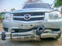 den isolerade bilillustrationen för olyckan 3d framförde white Royaltyfria Bilder