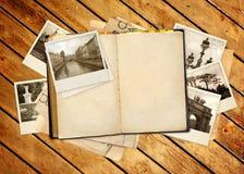 den isolerade boken objects vita gammala over foto Royaltyfri Fotografi