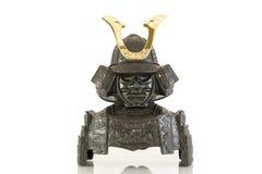 Den isolerade samurajharnesken royaltyfri bild