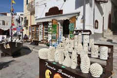 Den Italien souvenir shoppar Arkivbild
