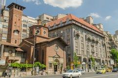 Den italienska kyrkan av den mest heliga Förlossare Royaltyfria Bilder