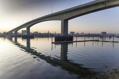 Den Itchen bron Southampton Fotografering för Bildbyråer