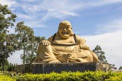 Den jätte- budaen, den buddistiska templet, Foz gör Iguacu, Brasilien Arkivbild