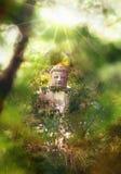 Den jätte- Buddha av den buddistiska templet lokaliserade nära från Tokyo i Japan Arkivfoto