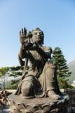 Den jätte- Buddha i Hong Kong Fotografering för Bildbyråer