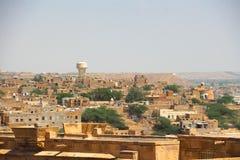 Den Jaisalmer staden Fotografering för Bildbyråer