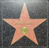 Den Jane Russells stjärnan på Hollywood går av berömmelse Royaltyfri Fotografi