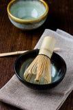 Den japanska teburken och viftar Royaltyfri Foto