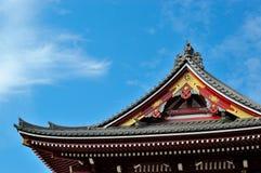 Den japanska templet royaltyfria bilder