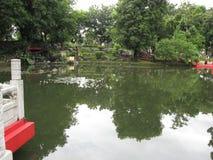Den japanska trädgården, Rizal parkerar, Manila, Filippinerna arkivbild