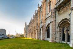 Den Jeronimos kloster Royaltyfri Foto