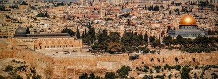 Den Jerusalem kupolen vaggar religionen Palestina Israel Royaltyfria Foton
