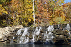 den jest diabelska wodospadu Zdjęcia Royalty Free