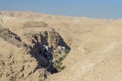 Den Judean öknen Israel Royaltyfri Foto