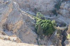 Den Judean öknen Israel Arkivfoto