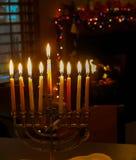 Den judiska julen royaltyfri fotografi