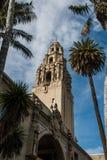 Den Kalifornien tornbalboaen parkerar San Diego Arkivfoton