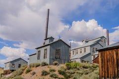 Den kaliforniska spökstaden av Bodie Fotografering för Bildbyråer