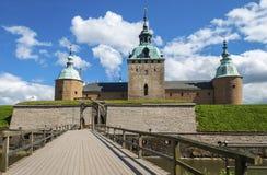 Den Kalmar slotten - stad av Kalmar royaltyfria foton
