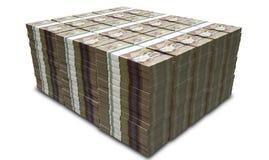 Den kanadensiska dollaren noterar packebunten Arkivfoton
