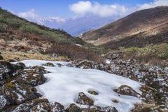 Den Kanhenjunga nationen parkerar Fotografering för Bildbyråer