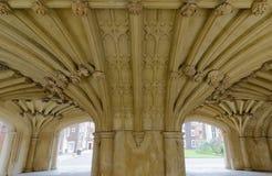 Den kapellUndercroft Lincolns gästgivargården London royaltyfri fotografi