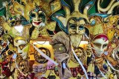 den karnevalfokusitaly maskeringen maskerar höger venice Royaltyfria Foton