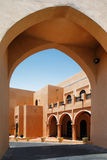Den Katara amfiteatern, Doha, Qatar Royaltyfri Foto