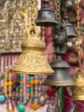 Den Katmandu souvenir shoppar Arkivbilder