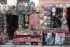 Den Katmandu souvenir shoppar Royaltyfri Foto