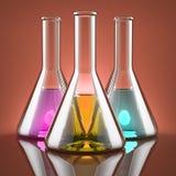 Den kemiska branschen Arkivfoton