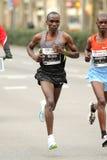Den kenyanska halvan distanserar löpare Eliud Kipchoge Arkivfoton