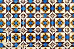 den keramiska garneringen tiles tappningväggen keramiska tegelplattor för bakgrund Arkivbilder