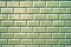 den keramiska garneringen tiles tappningväggen keramiska tegelplattor för bakgrund Arkivfoto