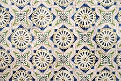den keramiska garneringen tiles tappningväggen keramiska tegelplattor för bakgrund Royaltyfri Foto