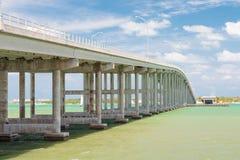 Den Key Biscayne bron i Miami Royaltyfria Bilder