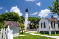 Den Key West fyren arkivbilder