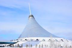 Den KHAN SHATYR underhållningmitten i Astana/Kasakhstan Arkivfoton