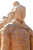 den kinesiska cottaen figures terra Arkivbild