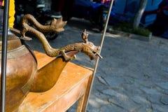 Den kinesiska drakerishavregröten Royaltyfria Foton