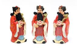 Den kinesiska guden hok-lok-su rappar diagramet Royaltyfri Fotografi